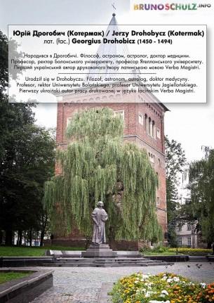 Urodził się w Drohobyczu. Filozof, astronom, astrolog, doktor medycyny. Profesor, rektor Uniwersytetu Bolońskiego, profesor Uniwersytetu Jagiellońskiego.